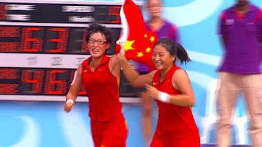 Women's Tennis Doubles Final | YOG Singapore 2010