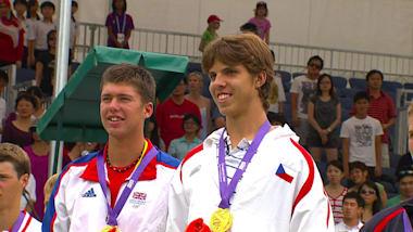 Men's Tennis Doubles Final | YOG Singapore 2010