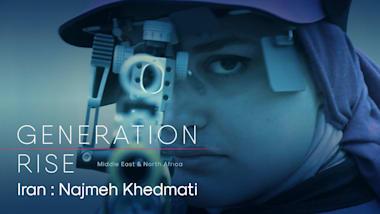 Najmeh Khedmati: curva de aprendizaje empinada para la tiradora iraní