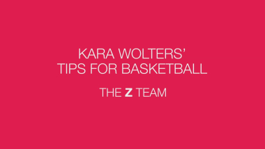 Kara Wolters' tips for basketball