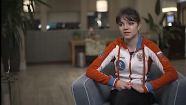 예브게니아 메드베데바, 여자 피겨 스케이킹 압도하는 러시아를 말한다