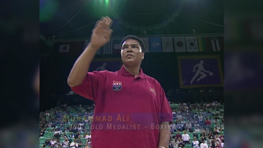Muhammad Ali receiveslost gold medal