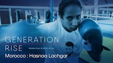 Hasnaa Lachgar: orgullo de sus padres y prueba de que las mujeres boxean