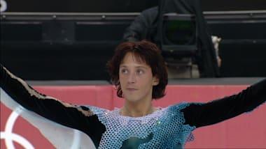 Johnny Weir s'élance sur 'Otonal' à Turin 2006
