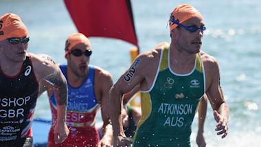 Men's Grand Final   2018 ITU World Triathlon - Gold Coast