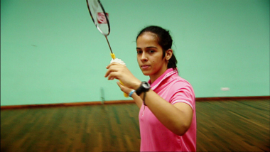 Saina Nehwal mit 19 Jahren
