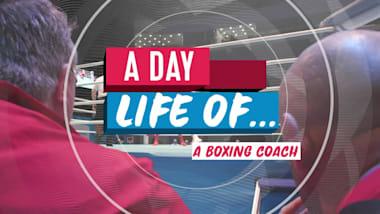 ボクシングコーチの一日