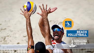 3. Platz und Finals Tag 9   Beachvolleyball