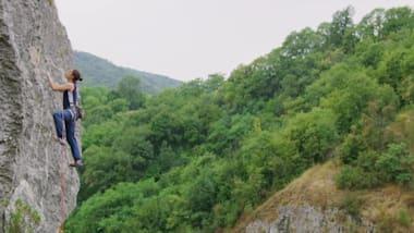 Free Climbing with Stasha Gejo