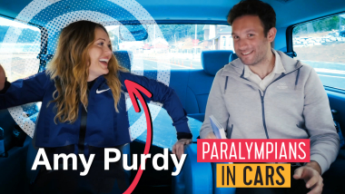 Paralympians In Cars: Amy Purdy tells all
