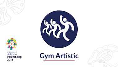 Gym. Artistique Jour 6 | Jeux Asiatiques 2018 - Jakarta-Palembang, Indonésie