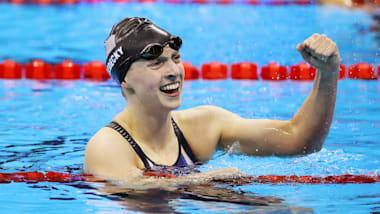 ارتقاء الرياضيين: كاتي ليديكي