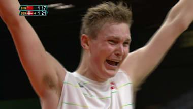 バドミントン:男子シングルス3位決定戦   リオ2016リプレイ
