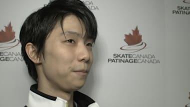 INTERVIEW: Yuzuru Hanyu leads after the short program