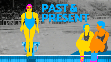 بين الماضي والحاضر – السباحة المتزامنة