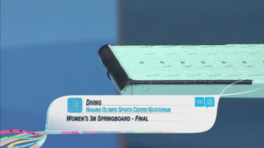 Final - Women's 3m Springboard - Diving | 2014 YOG Nanjing