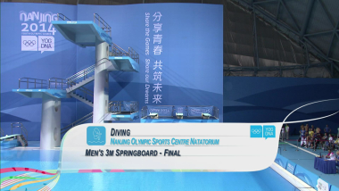 Final - Men's 3m Springborad - Diving | 2014 YOG Nanjing