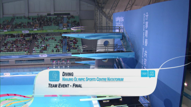 Team Event - Diving | 2014 YOG Nanjing