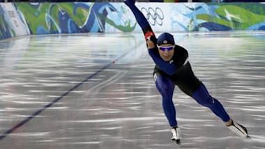 올림픽 스피드 스케이팅 챔피언 모태범 사이클 선수로 데뷔