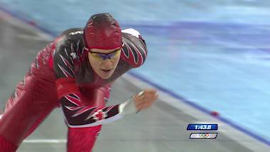L'obstination a conduit Hughes à son premier titre en patinage de vitesse