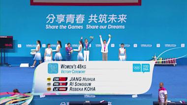 Halterofilia, -48kg femenino | JOJ Nankín 2014