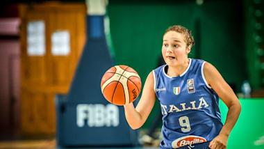 ITA vs. ESP   FIBA U16 Damen Europameisterschaft - Kaunas