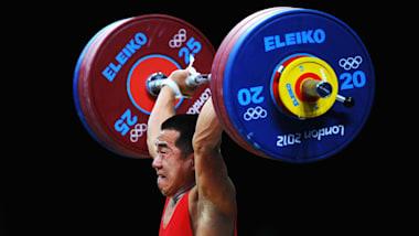 Los levantadores récord de pesas