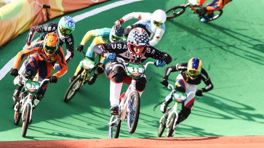 리우 리플레이: 남자 BMX 결승 레이스