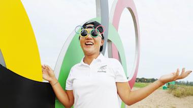 Cinq trous en un aux Jeux de Rio