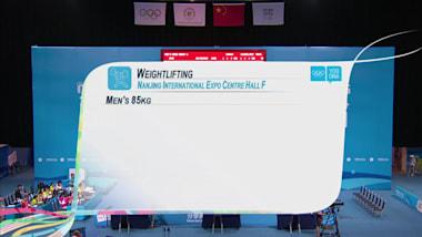 Herren 85kg Gewichtheben | 2014 OJS Nanjing