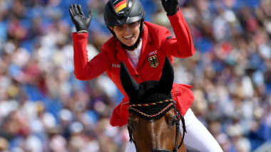 Simone Blum claims historic jumping gold at World Equestrian Games