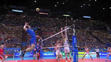Rusia sigue con vida; Brasil e Italia llegan al 'Final Six'