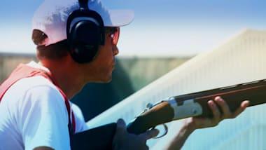 نهائي بندقية الهواء 50م رجال   بطولة العالم (ISSF) - تشانج وون