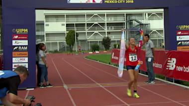 Belarusian Anastasiya Prokopenko ends long wait for individual gold