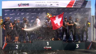 Alinghi top extreme sailing series after Cascais victory