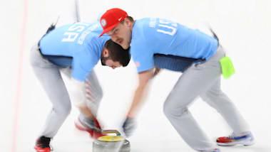 مباراة الذهب رجال - الكيرلنج   2018 (360°)