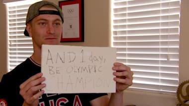 BMX gold medallist reveals how childhood prophesy came true