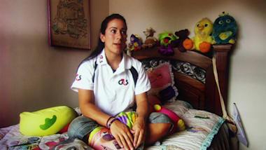 Mariana Pajon at age 17