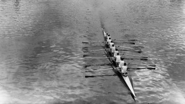 Germany break American dominance in men's eight at Rome 1960