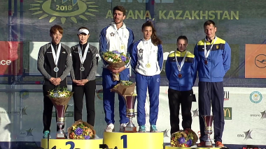 Italy edge Korea to claim mixed relay title in Kazakhstan