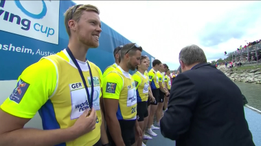 Germany win men's eight at World Rowing Cup II