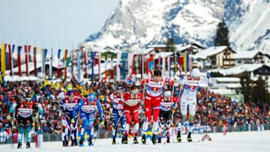 ノルディックスキー世界選手権、チームスプリント男子はノルウェー、女子はスウェーデンが制す