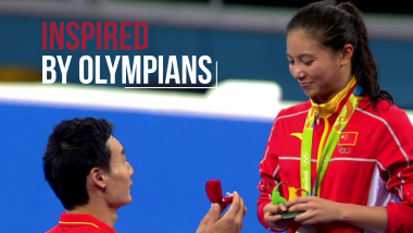 Happy Valentine's Day | Inspired by Olympians
