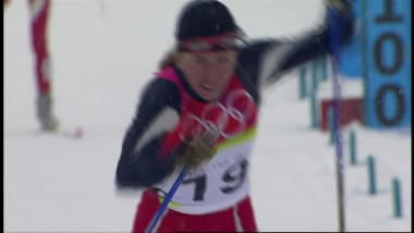 Justyna Kowalczyk in the 30km in Turin 2006