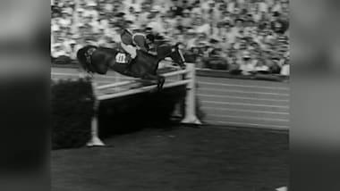 Chilean equestrians - Helsinki 1952 (Oscar Cristi)