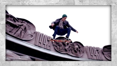 Les rues glaciales de Sibérie ont fait d'Egor Kaldikov un skateur de fer