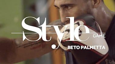 Beto Palmetta, boxeador Olímpico, golpeia com estilo