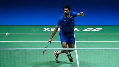 Praneeth scripts memorable win over legend Lin Dan