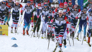 Sprint par Équipes (F & H) | Coupe du Monde FIS - Dresde