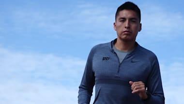Rencontre avec Rilee ManyBears, le coureur sauvé par son rêve olympique